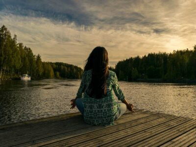 Lato nad jeziorem Bielawskim
